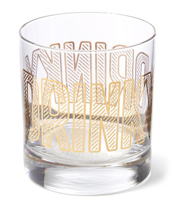 Drinky Lowball Glass