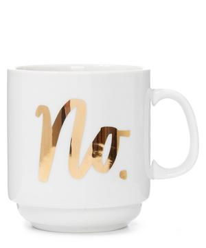No Stackable Mug