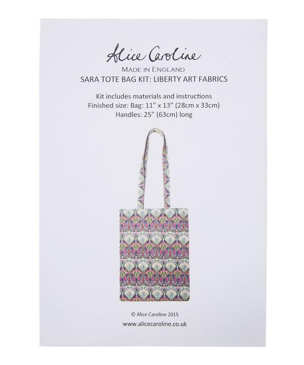 Sara Canvas Tote Bag Kit