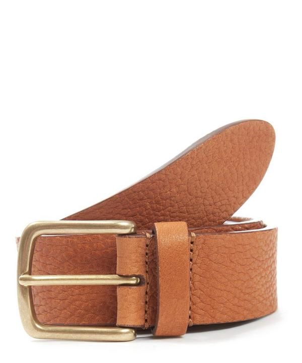 Supple Leather Belt