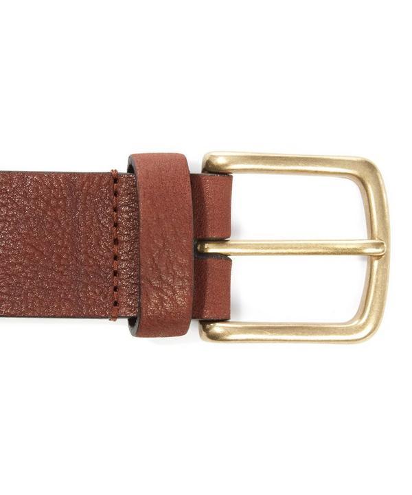 Supple Leather Belt