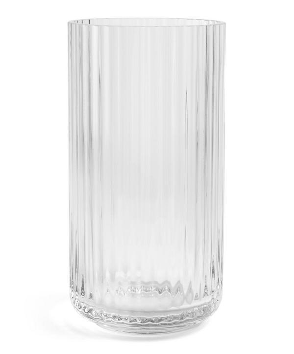 Glass 20cm Vase