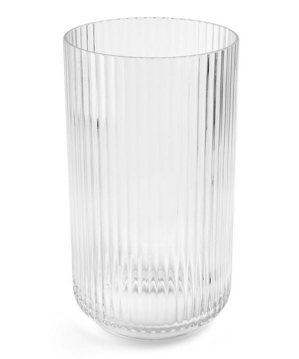 Glass 31cm Vase