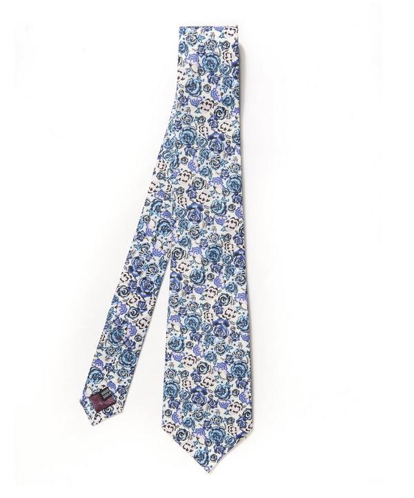 Palace Garden Floral Tana Tie