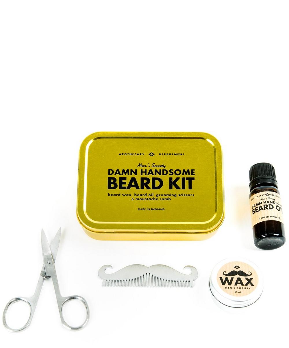 beard grooming kit liberty london. Black Bedroom Furniture Sets. Home Design Ideas