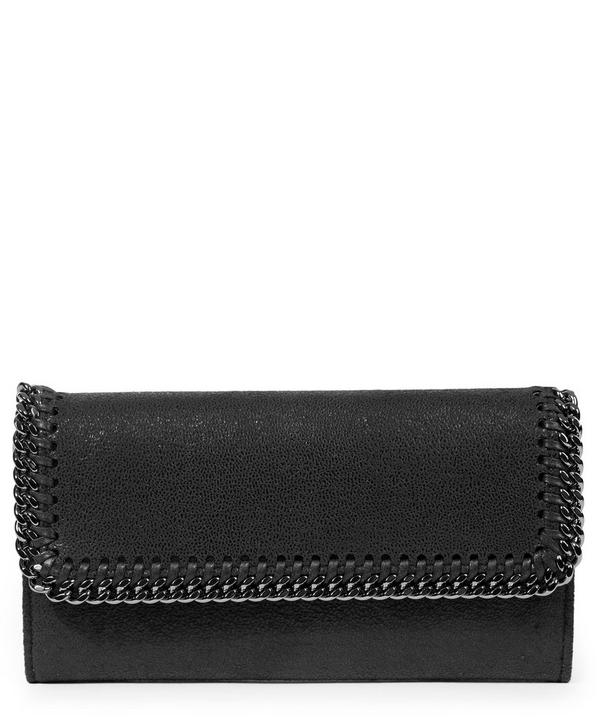 Shaggy Deer Falabella Flap Wallet