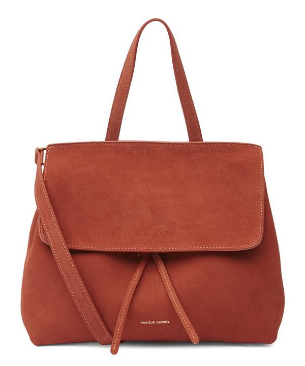 Suede Mini Lady Tote Bag