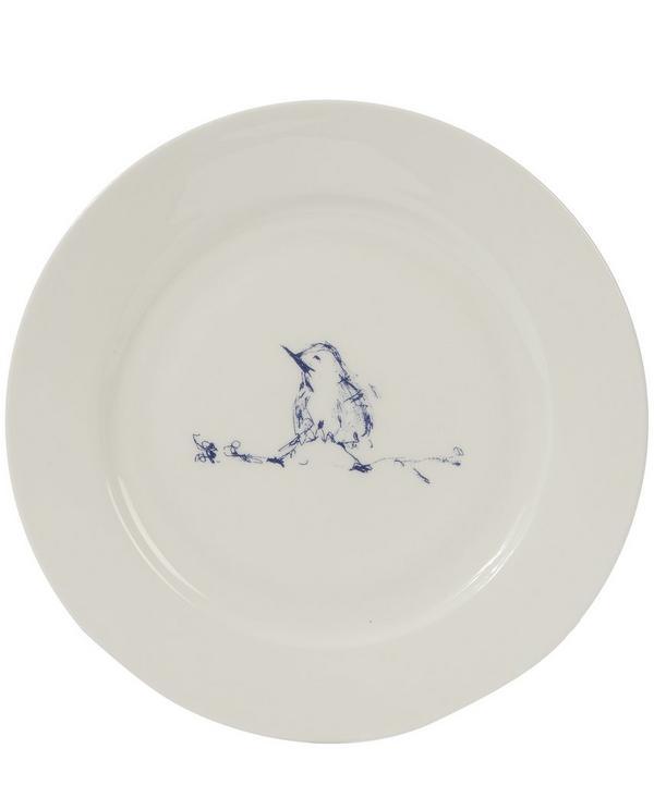 Small My Favourite Bird Plate