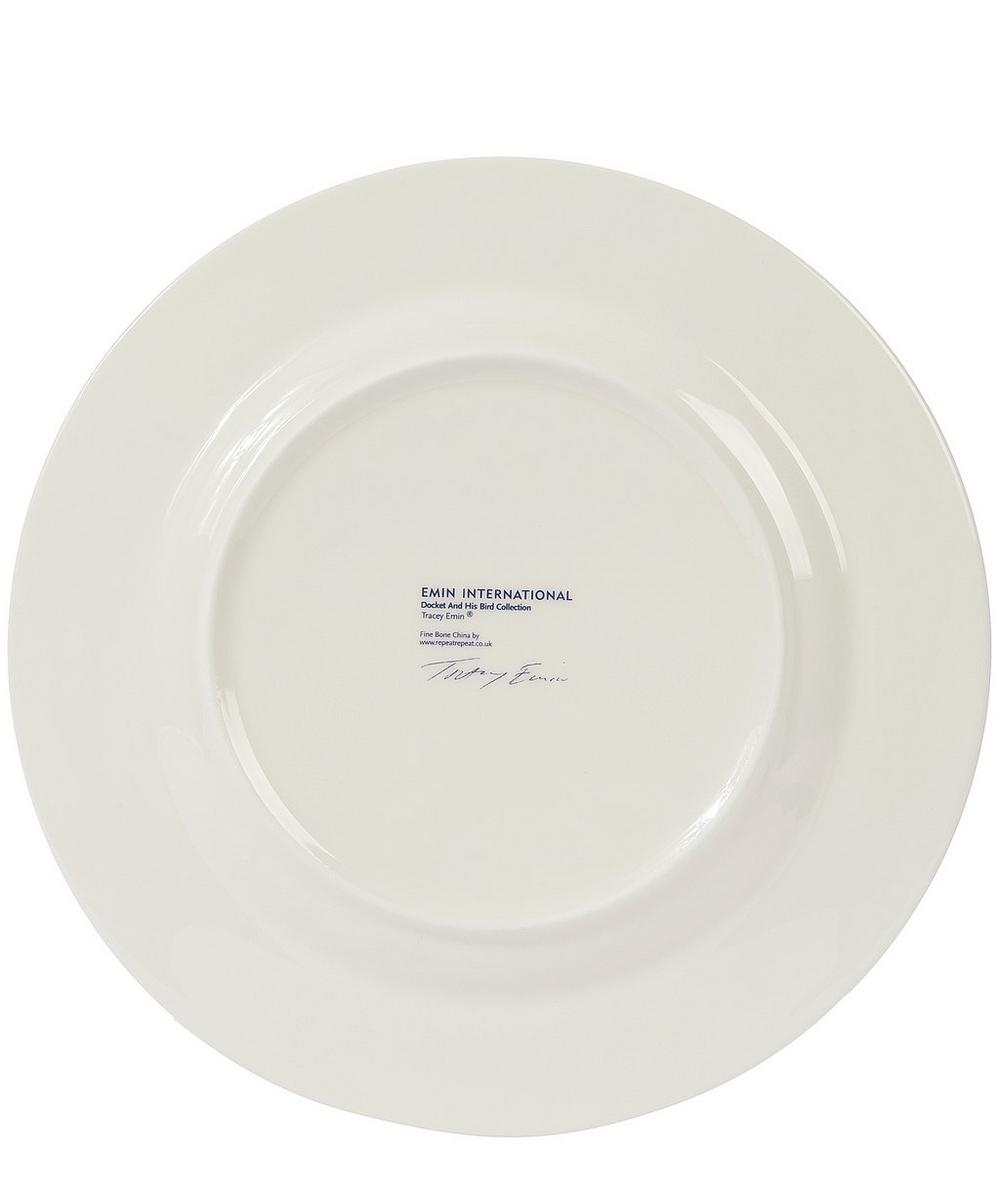 Large Docket and His Bird Plate