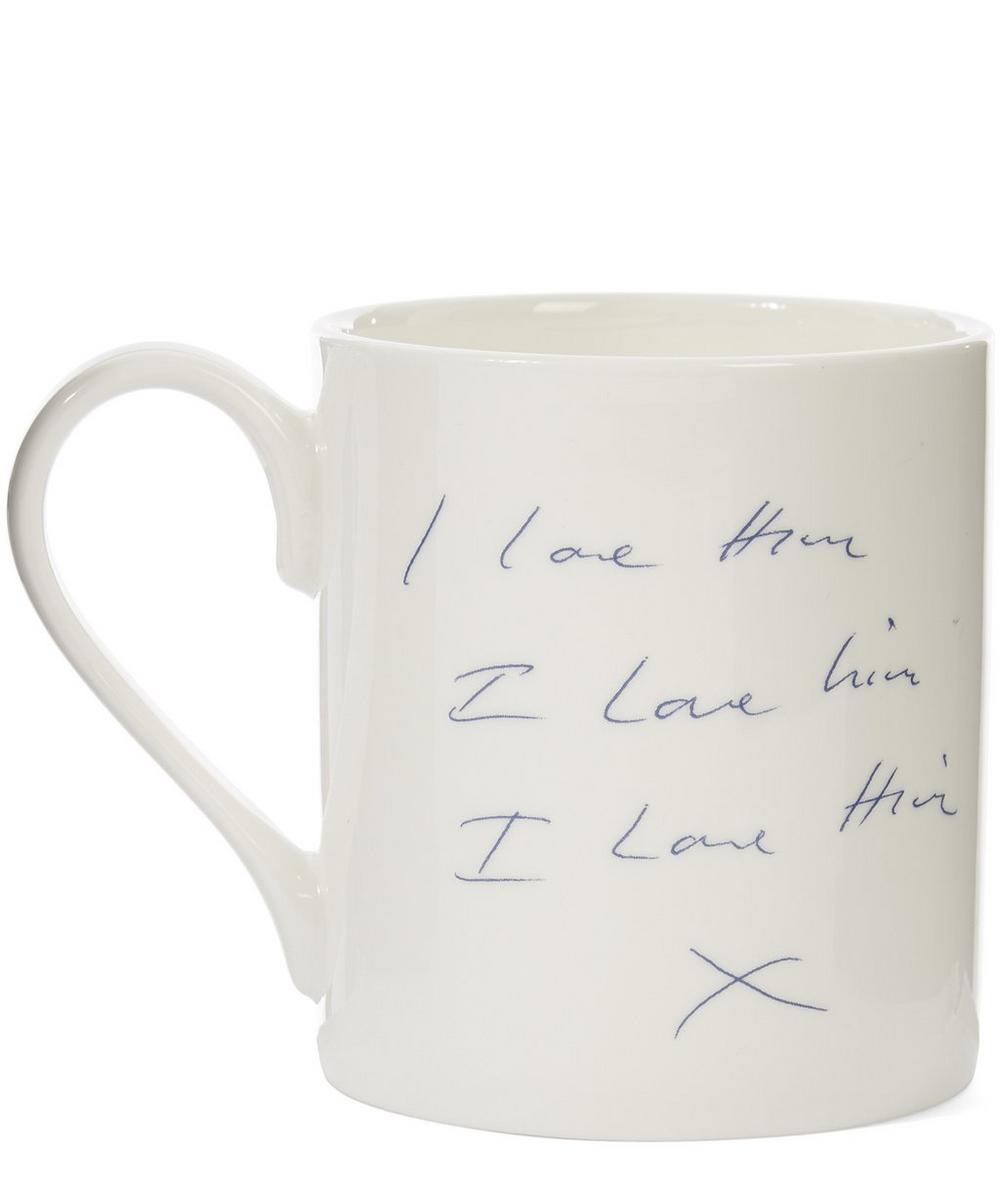 Docket I Love Him Mug