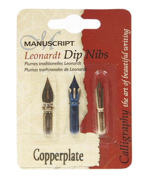 Leonardt Copperplate Dip Nibs