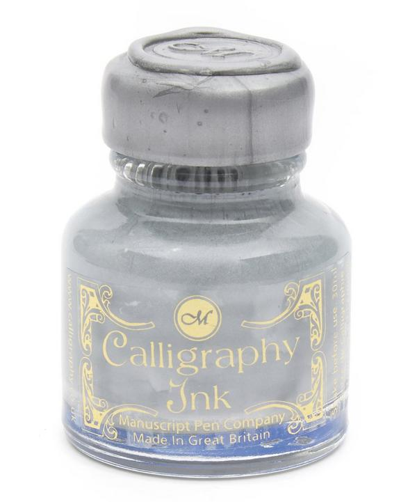 Silver Calligraphy Ink