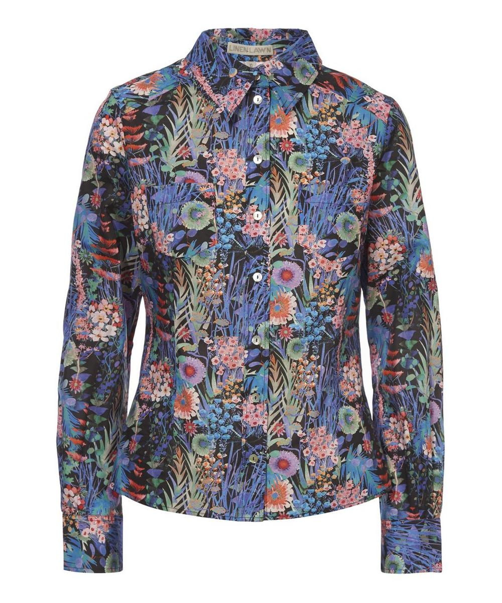 Camille Tana Lawn Cotton Fitted Shirt