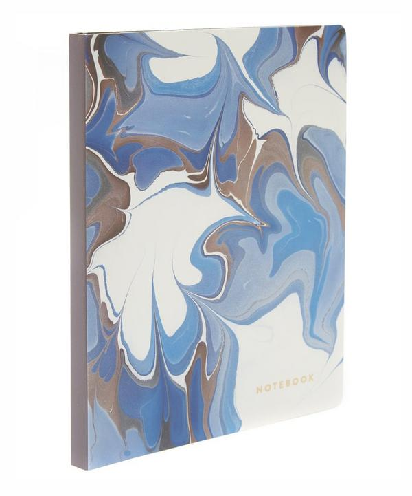 Deluxe Marbled Notebook