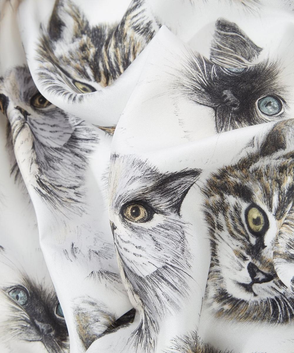 Cat Print Scarf