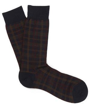 Greenwich Tartan Check Socks