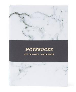 Marble A6 Notebook 3 Pack