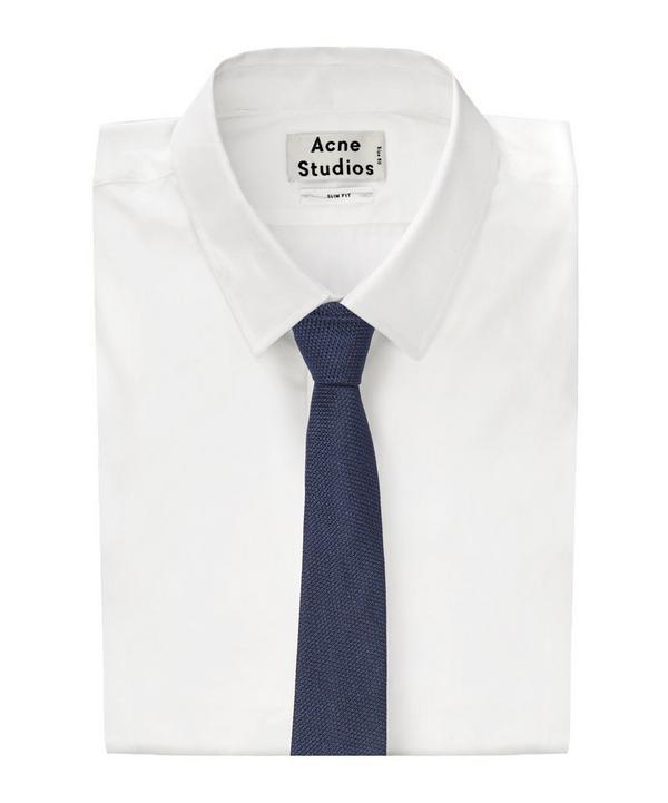 Knitted Birdseye Tie