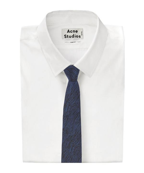 Zebra Printed Tie