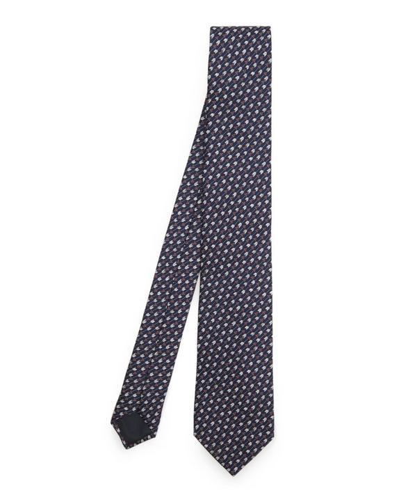 Textured Lines Tie