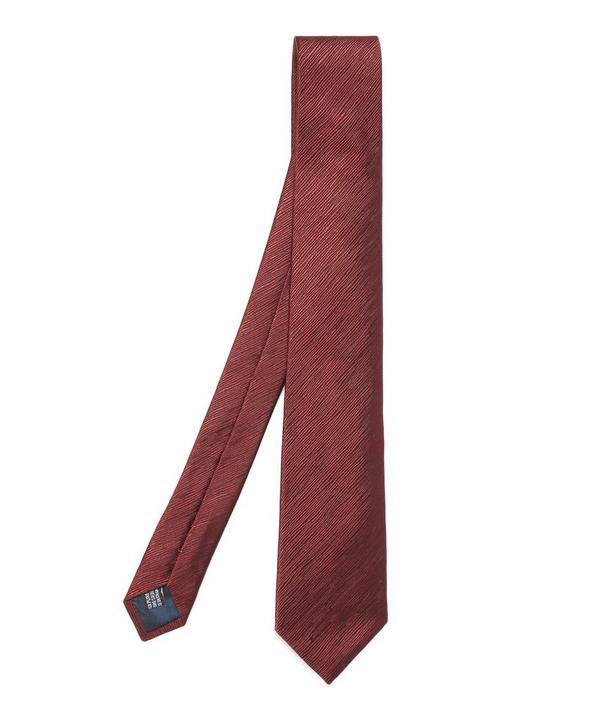 Textured Line Tie