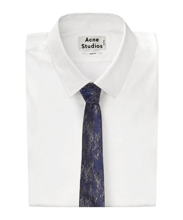 Abstract Textured Tie