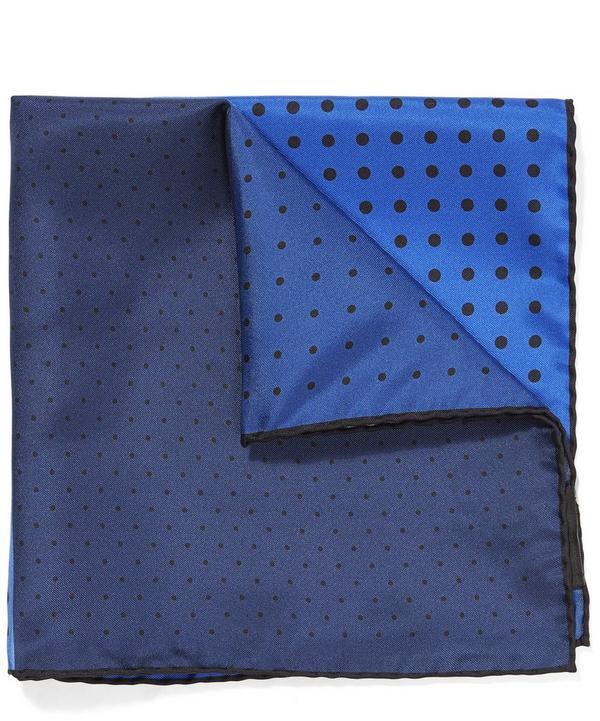 Lanvin 4 Colour Dot Pocket Square