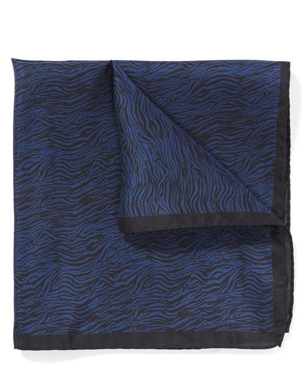 Zebra Pocket Square