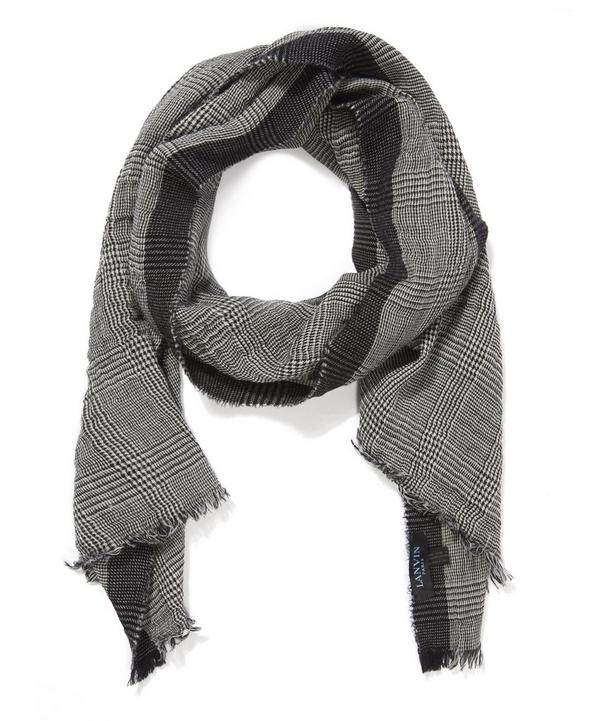 This Lanvin Scarf is knitted from a wool-cashmere blend, renonwed for its fine handle and softness.