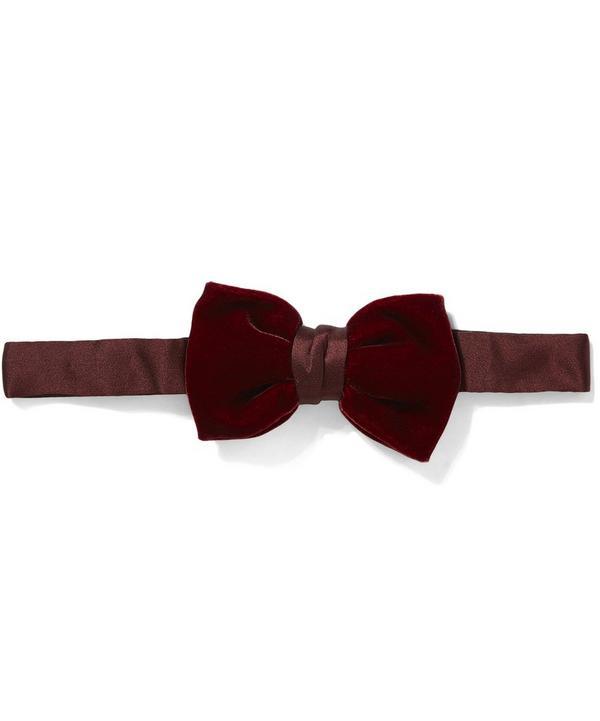 Classic Velvet Bow Tie