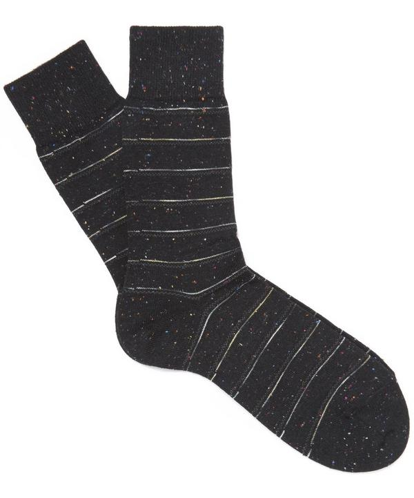 Tweed Stripe Socks
