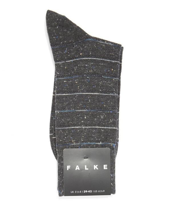 Tweed Stripe Socks