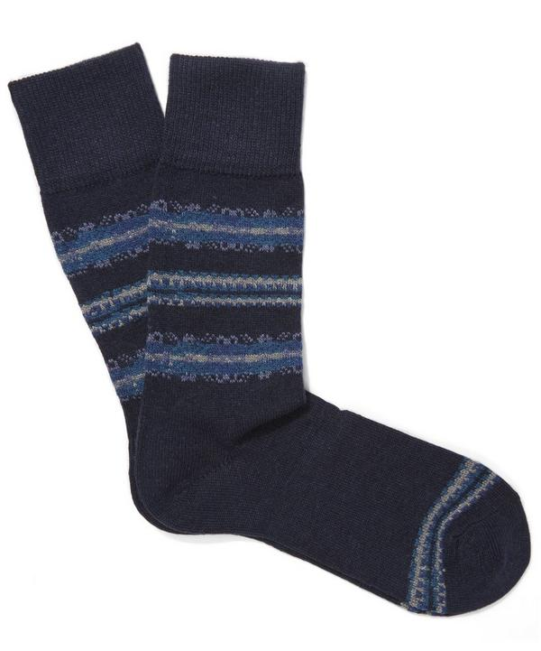 Fairisle Stripe Sock