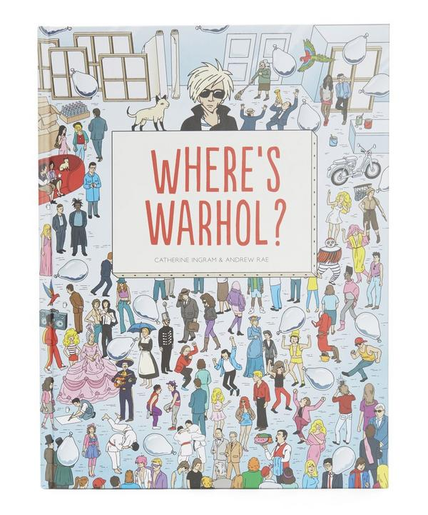 Where's Warhol Book