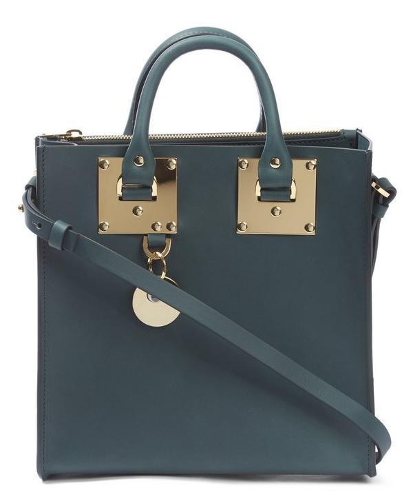 Square Albion Leather Saddle Bag