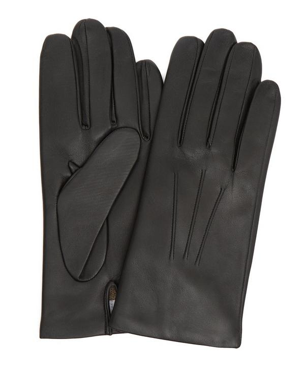 Bath Cashmere Leather Gloves