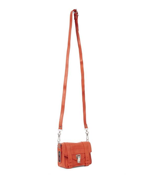 Leather PS1 Mini Crossbody Bag