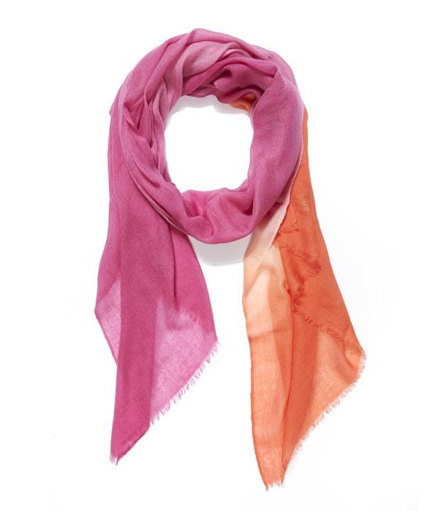 Dip Dyed Cashmere Scarf
