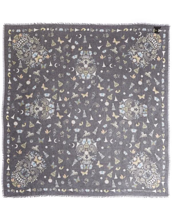 Night Obsession Printed Modal Scarf