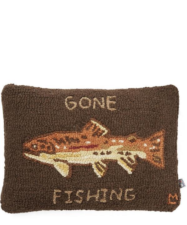 Gone Fishing Cushion
