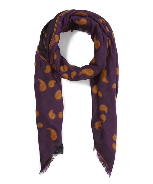 Paisley Emroidered Scarf
