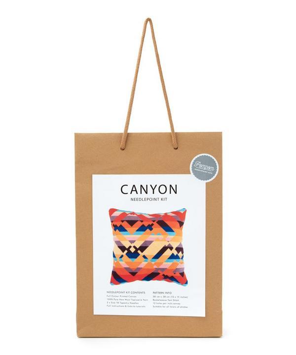 Canyon Needlepoint Cushion Kit