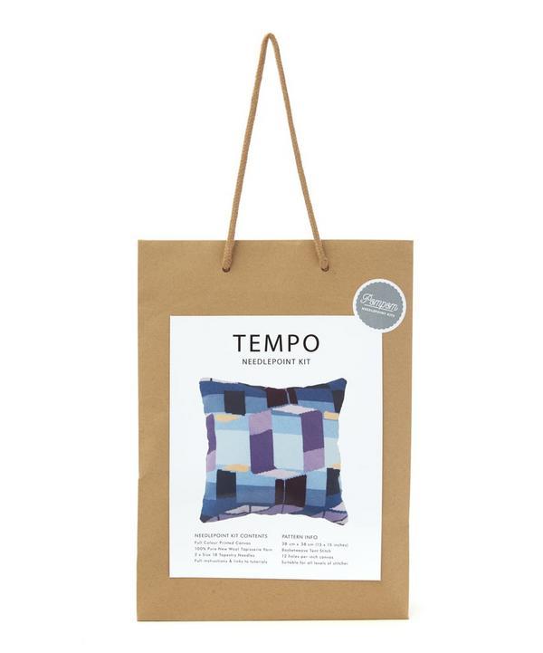 Tempo Needlepoint Cushion Kit