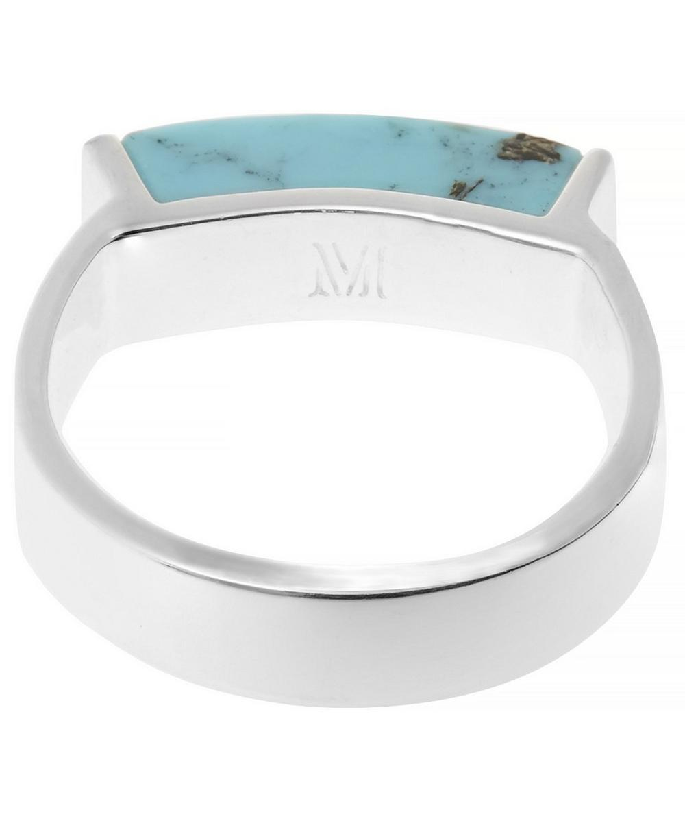 Sterling Silver Linear Ring