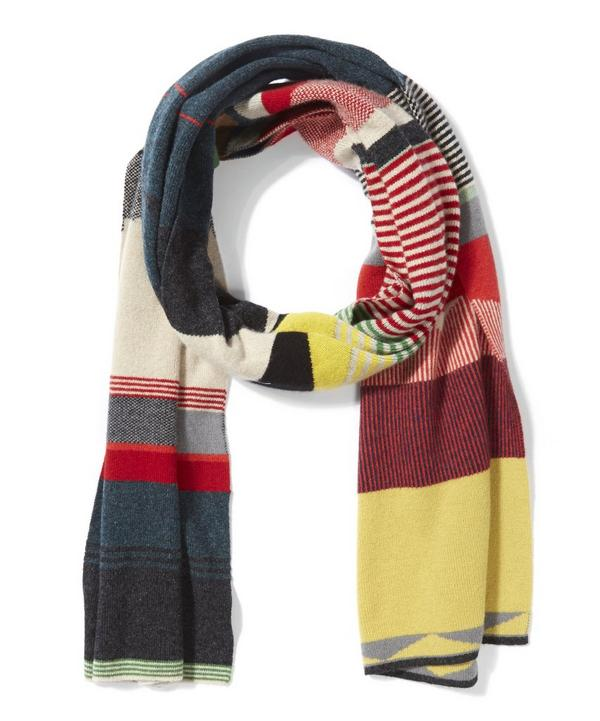 Lambswool Graphic Scarf
