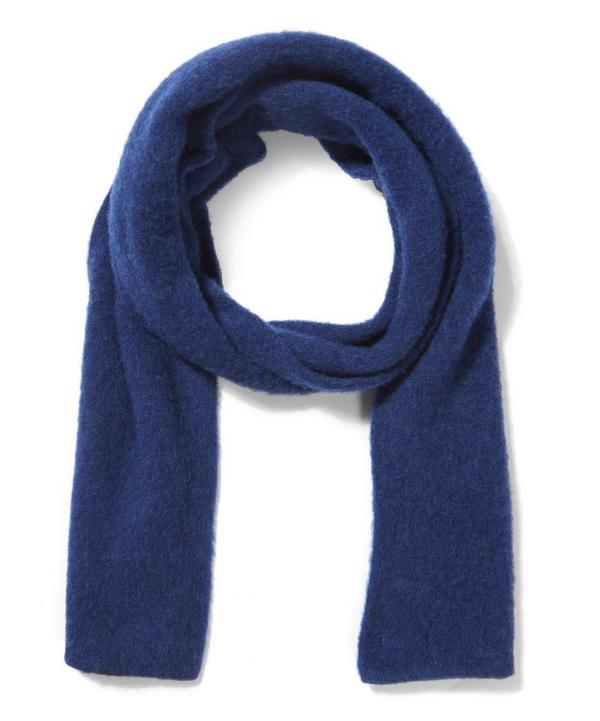 Brushed Lambswool Plain Scarf