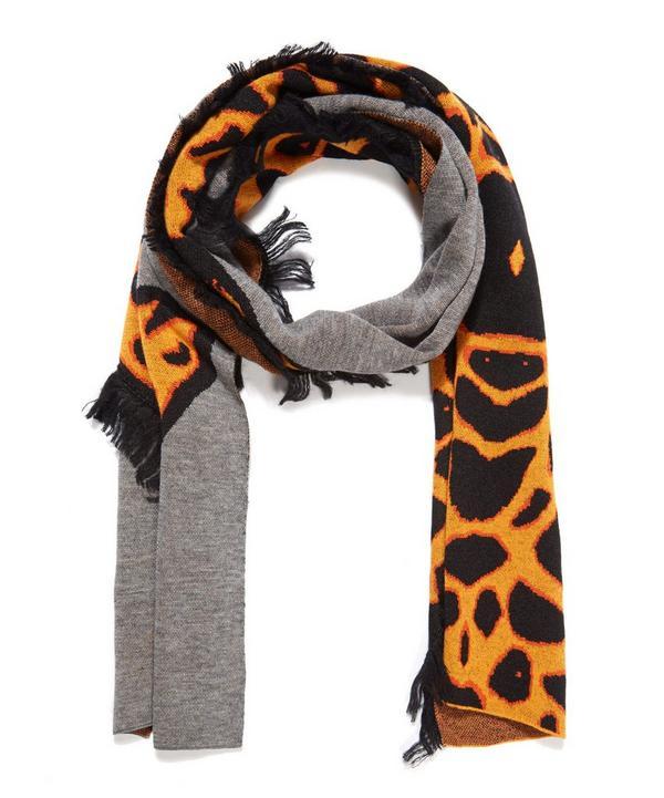 Giraffe Wool Scarf