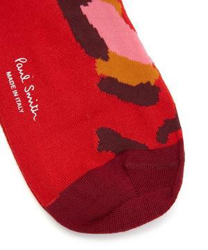 Camo Printed Socks