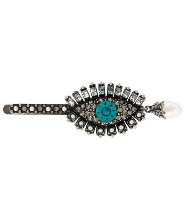 Lucky Eye Detailed Hair Slide