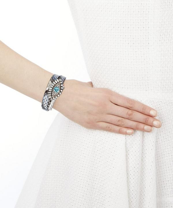 Lucky Eye Double Wrap Bracelet